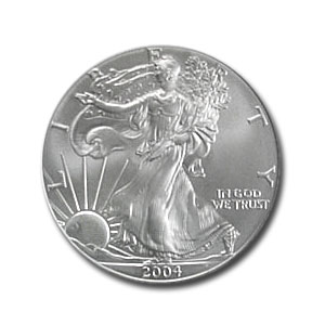 Silver Eagle One Dollar Coin